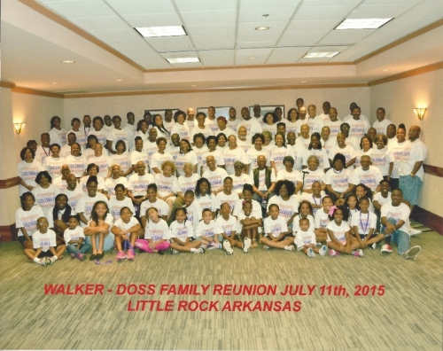 Walker-Doss 2015 Reunion, Little Rock, AR
